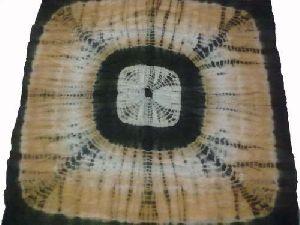 Ladies Tie Dye Square Cotton Scarves