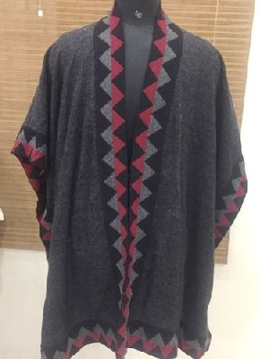 Ladies Wool Poncho
