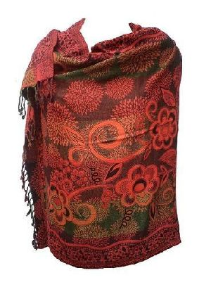 Ladies Jacquard Stoles