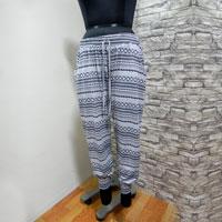 Azteck Print Rayon Trouser