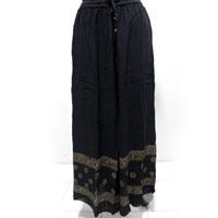 Rayon Gold Block Pallazo Pants