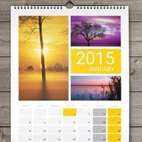 Wall Mounted Calendar