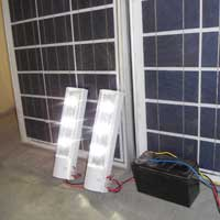 Solar LED Home Light System