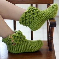 Hand Knitted Shoes