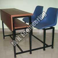 Double Joint School Desk
