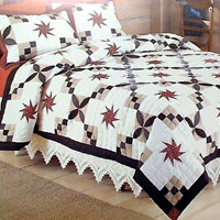 Patchwork Embroider Quilts