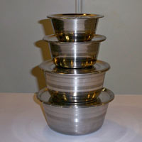 Stainless Steel Finger Bowl With Cover