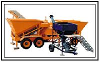 mobile batching mixing plant