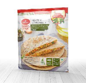 Healthy Mix Veg Paratha