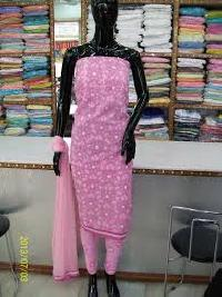 Chikan Dress Material