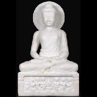 Makrana White Marble Lord Buddha Statues