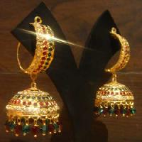 Gold Plated Jhumka 001