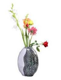 Metal Flower Vase 002