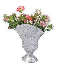 Metal Flower Vase 003