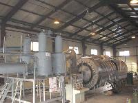 waste tyres pyrolysis machine