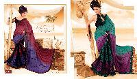 Fency Printed Silk Saree