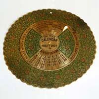 Brass Calendars