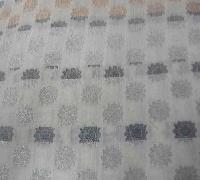 Embroidered Chanderi Butta Fabric