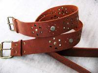 Studded Leather Belts