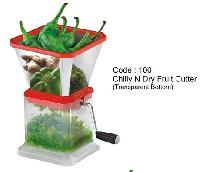 Chilly N Dry Fruit Cutter (transparent Bottom)