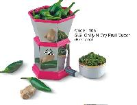 Plastic Chilly Cutter (round)