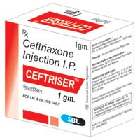 Ceftriser 1 gm Injectable