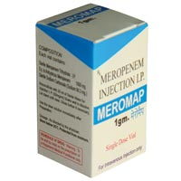 Meromap 1gm Injectable