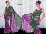 Indian Designer Heavy Work Saree, Party Wear Sari