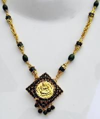 Coral Jade Pearl Necklace