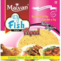 Malvan - Fish Papad
