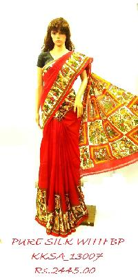 Exclusive Forteenrpally Pure Silk Saree With Bp