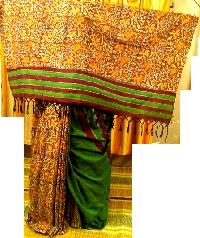 Kheas Half Half Cotton Saree