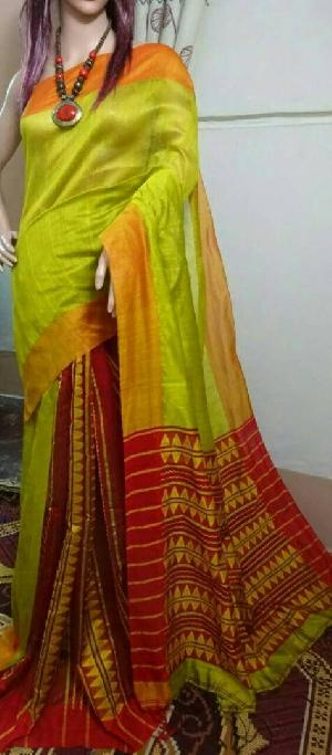 BIHU Silk Cotton Saree