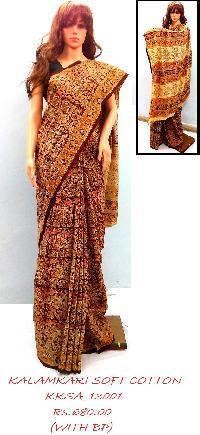 Kalamkari Saree In West Bengal Manufacturers And Suppliers India