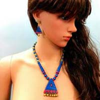 Wholesale A magnificent handcrafted earthen Terracotta Necklace sets