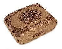 Carved Jewelery Boxes