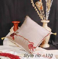 Embroidered Cushion Cover - 03
