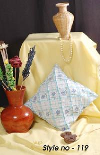 Embroidered Cushion Cover - 05