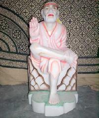 Sai Baba Marble Statue - (02)