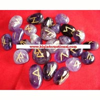 Amethyst Rune Stones