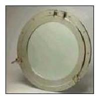 12 Inch Single Ring Porthole Mirror
