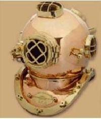18 Inch Copper Diving Helmet Heavy