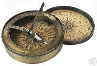3 Inch Sundial Compass