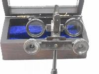 Antique Reproduction Binocular Wooden Box