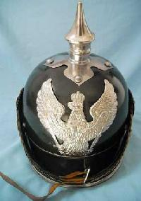 Black Finish,Pickelhaube Helmet