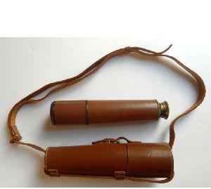 Telescope, Leather Case