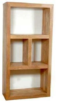 Wooden Hollow Book Shelf