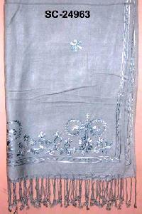 Rayon Pashmina Shawls SC - 24963