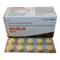 Anti Cold Tablets - Manufacturers, Suppliers & Exporters in India