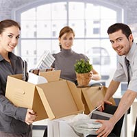 Corporate Goods Moving Services